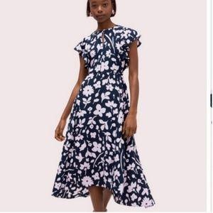 Kate Spade Splash Flutter Sleeve Dress size 4 nwot